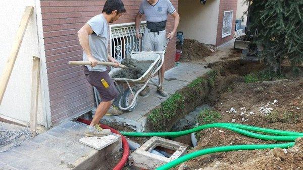 Ristrutturazione Interno Villa - Pavia - lavorazione in corso