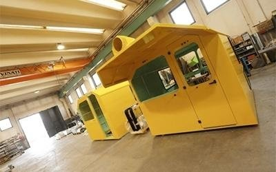 cabine per autogru