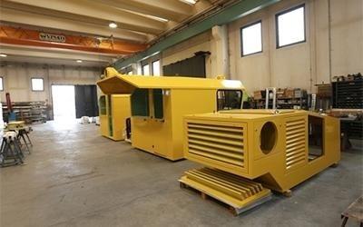 cabine per veicoli industriali