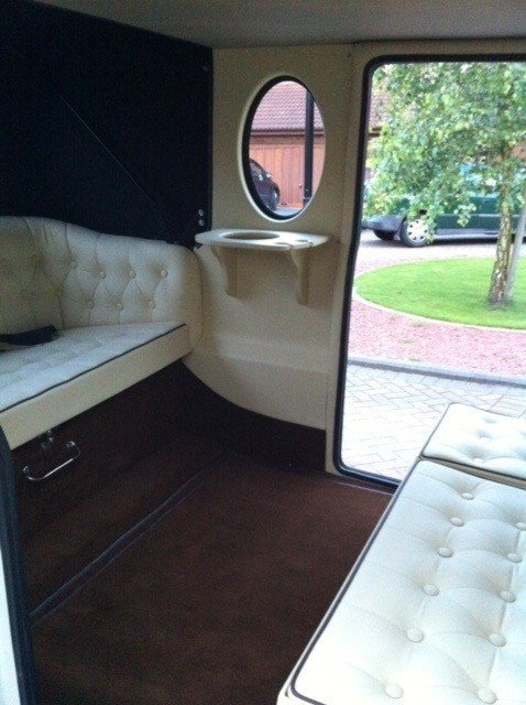 Interiors of our vintage car
