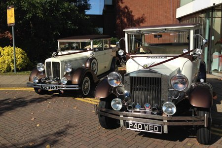 Prestigious modern cars in Liverpool