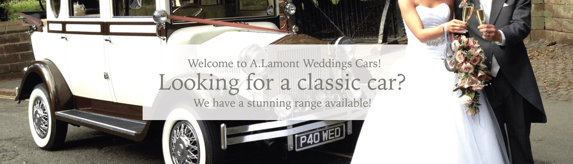 Classic cars for wedding