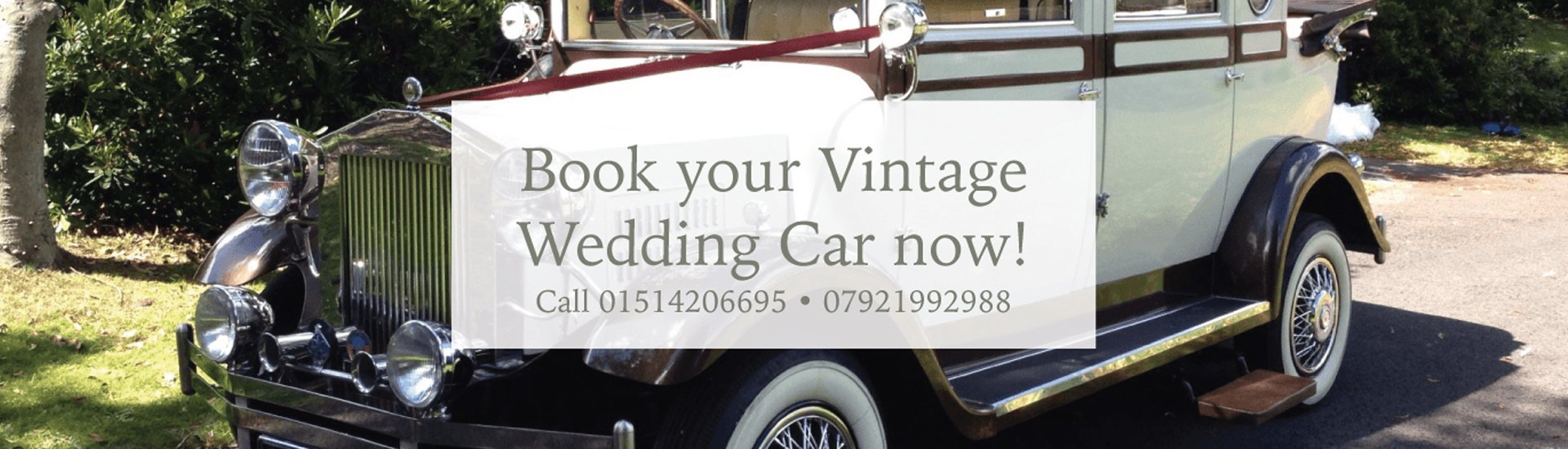 Book your vintage car