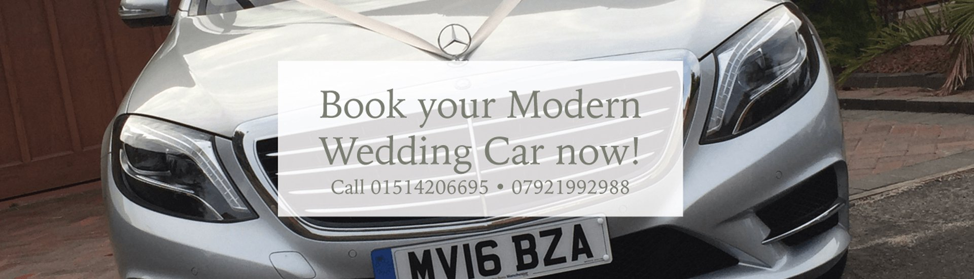 Stylish wedding cars