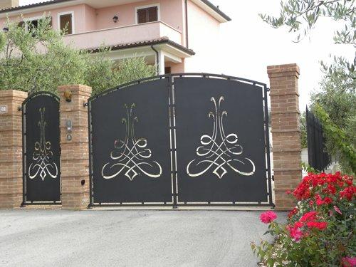 cancello a Spoleto