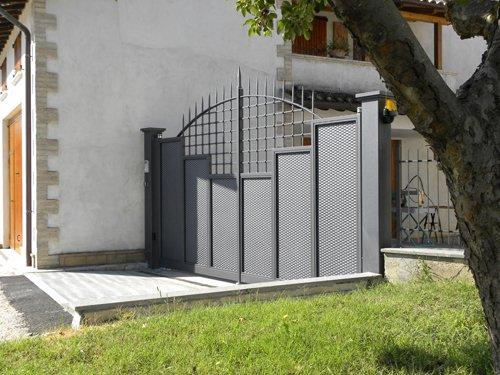 cancello esterno Mandoloni Emilio