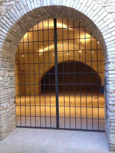 cancello in ferro a Spoleto