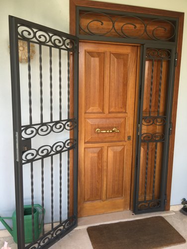 inferriate porta a Spoleto