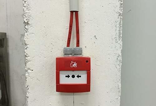 pulsante di allarme manuale antincendio