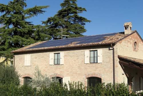 Impianti fotovoltaici in una casa indipendente