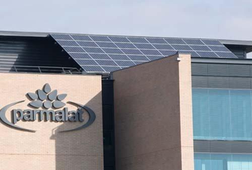 Impianti fotovoltaici in uno stabilimento PARMALAT