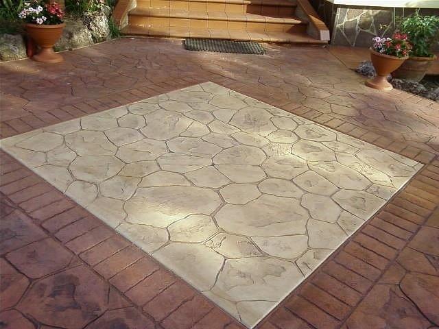 pavimento stampato catania