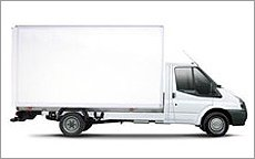 tail lift van hire in Hereford