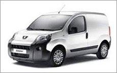 peugot van hire in Hereford