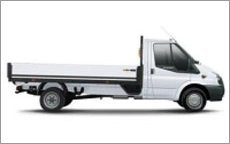 dropside flat bed truck hire getting ready in hereford