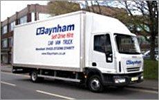 tail lift truck from L T Baynham