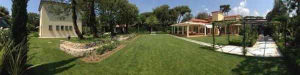 panoramica di un giardino