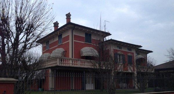 panoramica di una villa