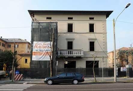 restauro di una villa