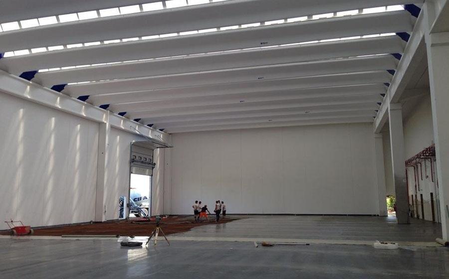 progettazione interna di un edificio