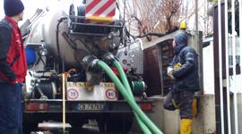 Cisterna per pulizia pozzi neri