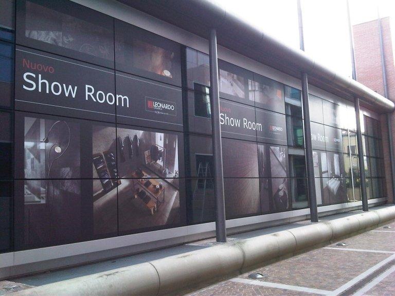 stampa digitale per decorazioni da ESTERNO per vetri