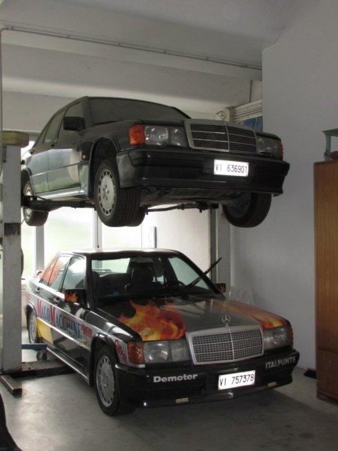 sistemazione auto