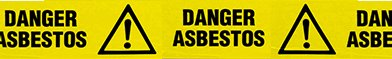 south east asbestos danger ribbon