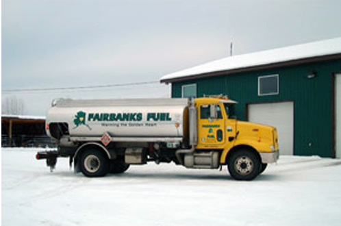 Fuel delivery in Fairbanks, AK
