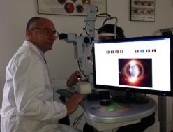 trattamento con laser