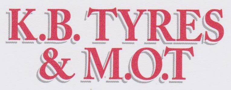 K. B. tyres & M.O.T Company logo