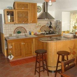 cucina su misura, cucina in legno massello