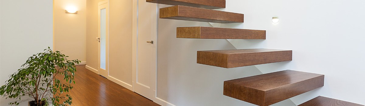 Timber stairs in Melbourne