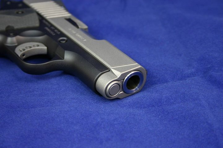 Custom Kimber 1911 pistol.