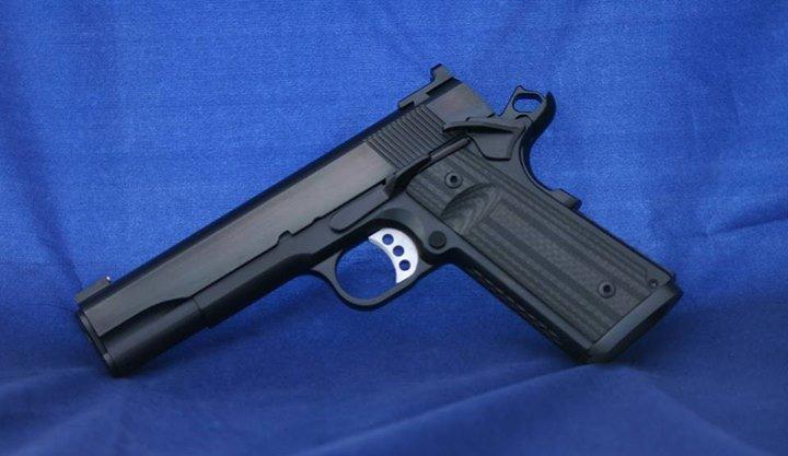 Custom Fusion 1911 pistol.