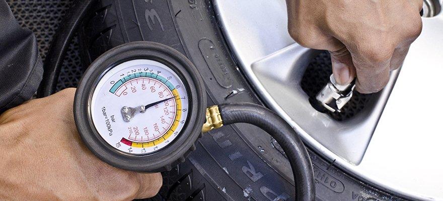 Tyre pressurisation