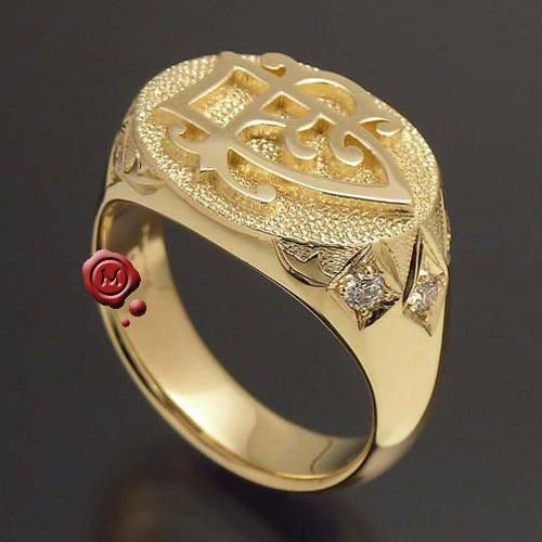 incisione su anello