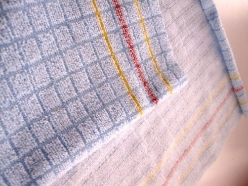 Square microfibre cloth