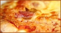 pizza a cena