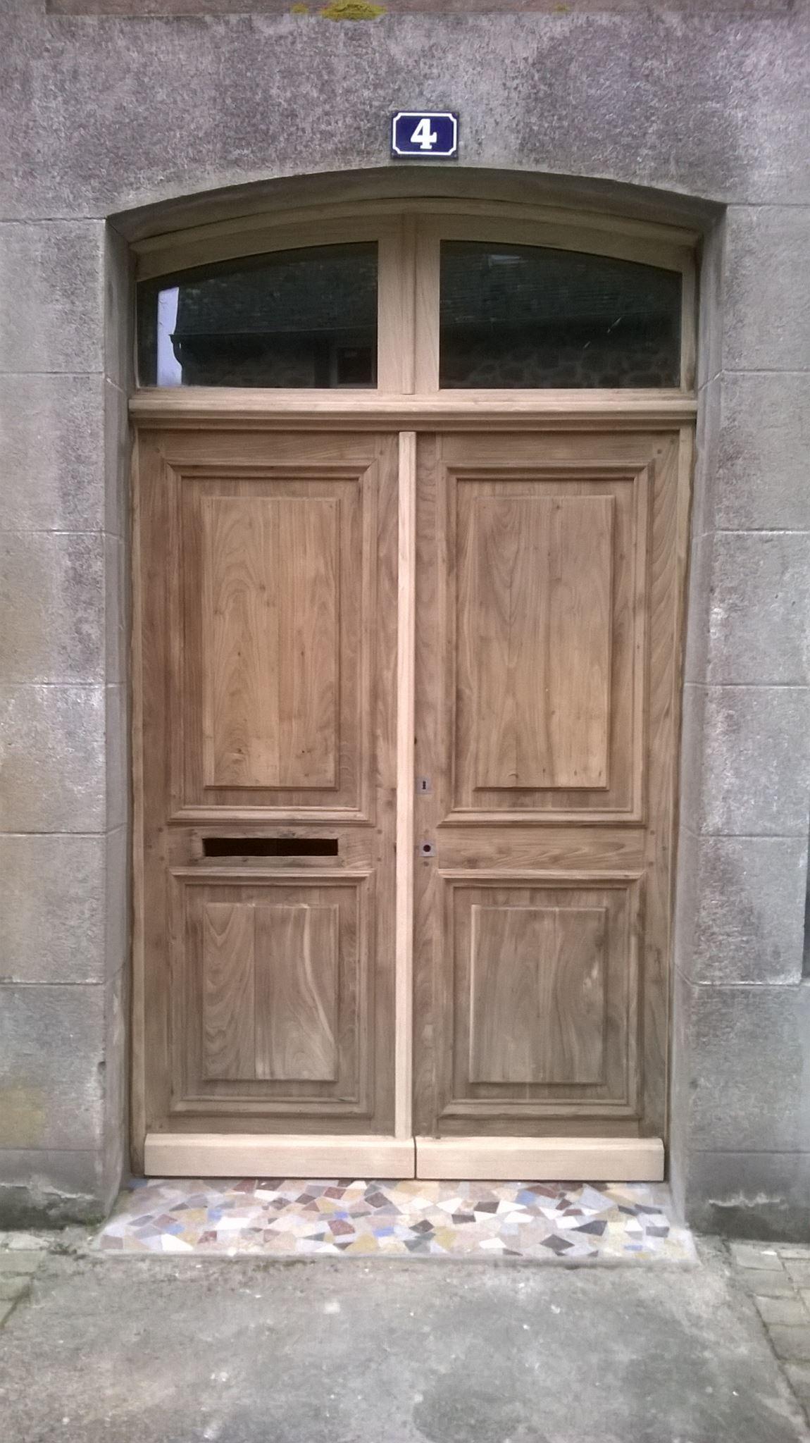 Rénovation de porte en bois