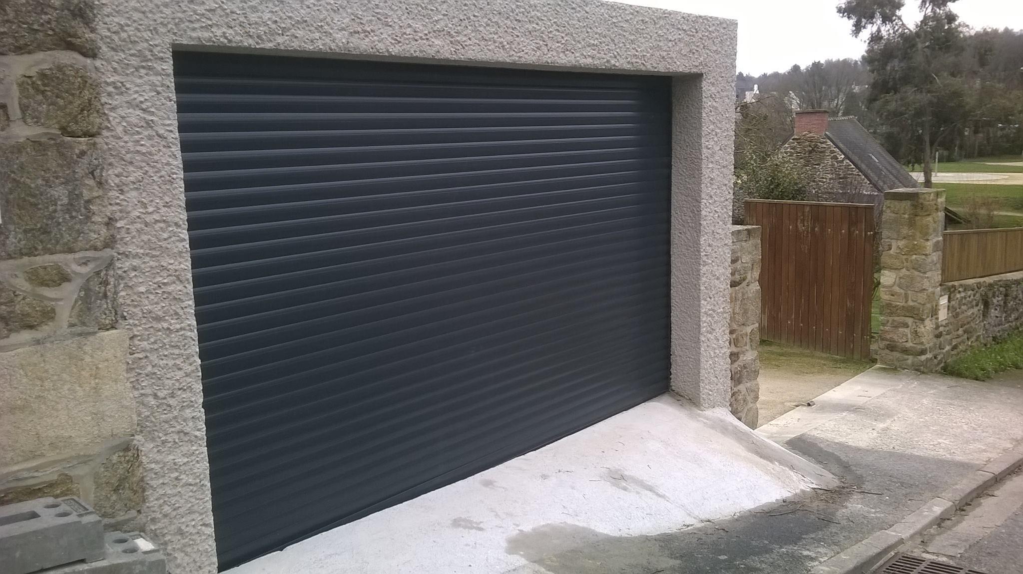portail de garage alu