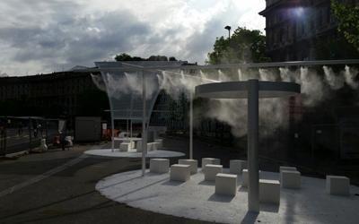 Nebulizzatori acqua per esterni