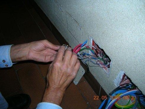 Riparazione impianto elettrico