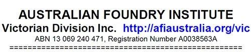 australian foundry institute victorian division