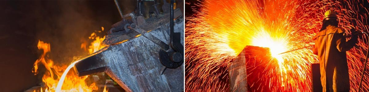 australian foundry institute metal pouring in casting line production