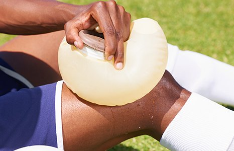 ice pack for knee pain relief