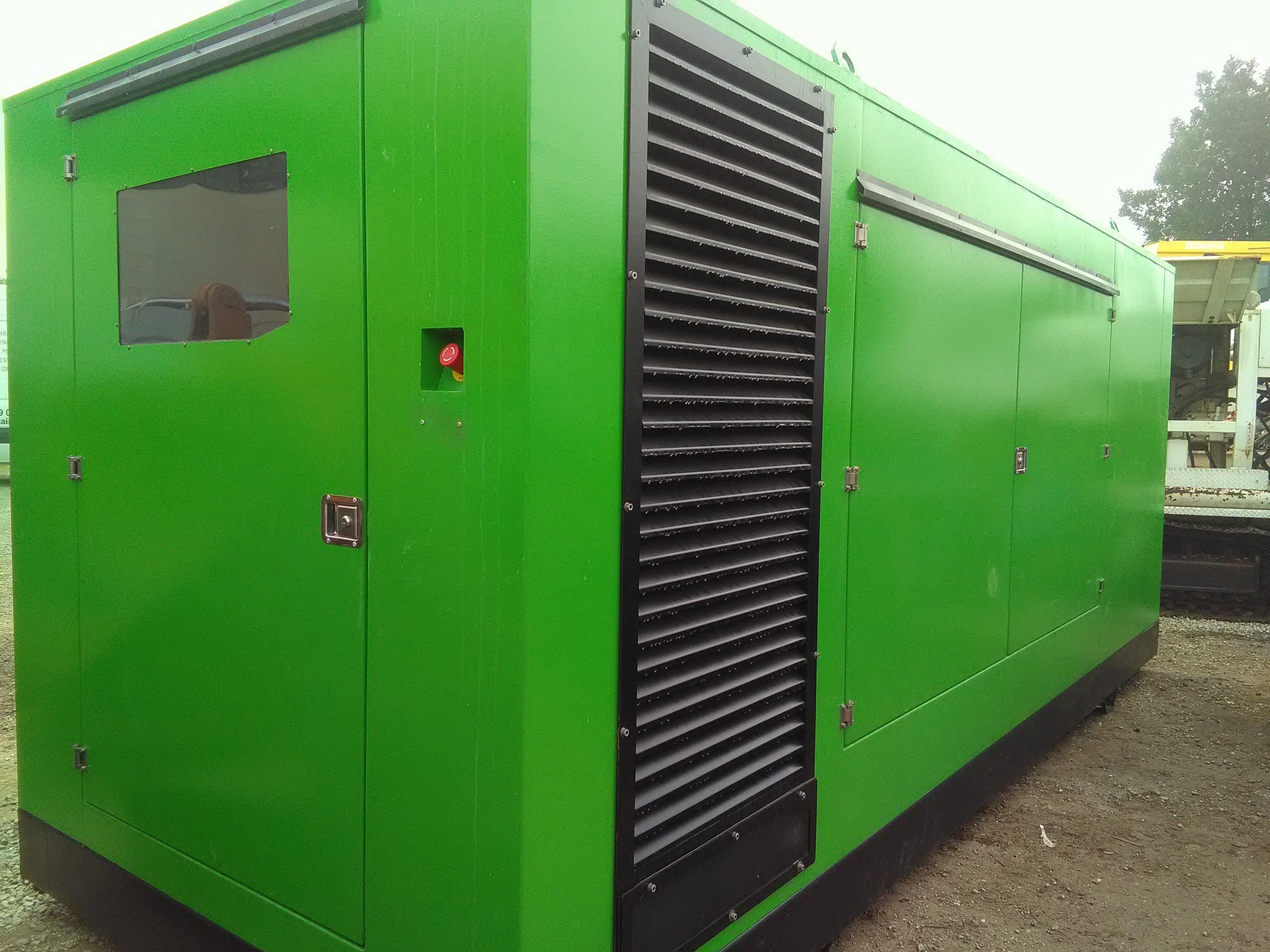 Gruppo Elettrogeno nuovo KW256 Green Power Systems