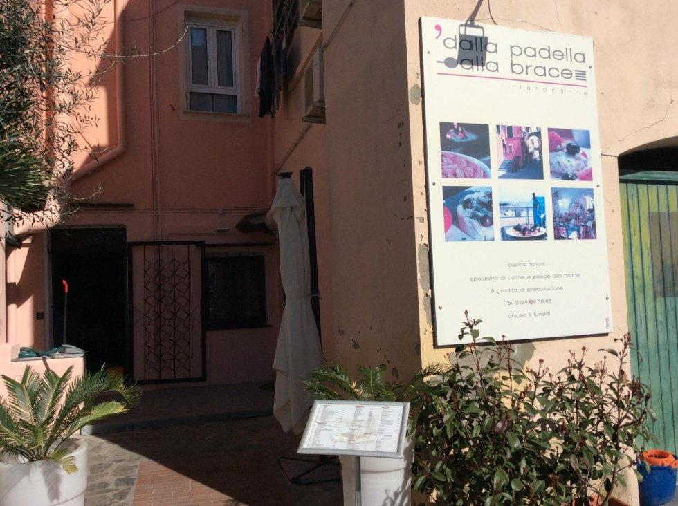 Ingresso principale lato passeggiata mare Riva Ligure