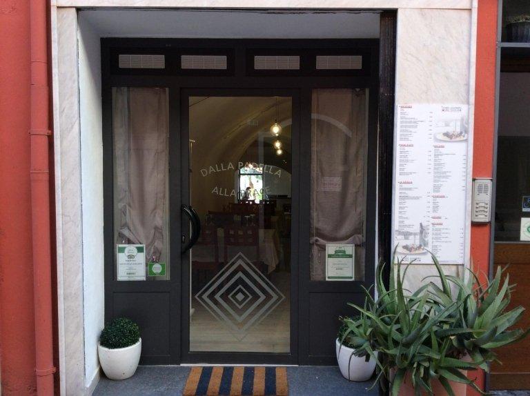 Ingresso budello centrale Riva Ligure