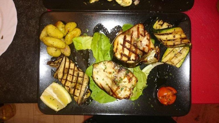 filetti di pesce grigliati